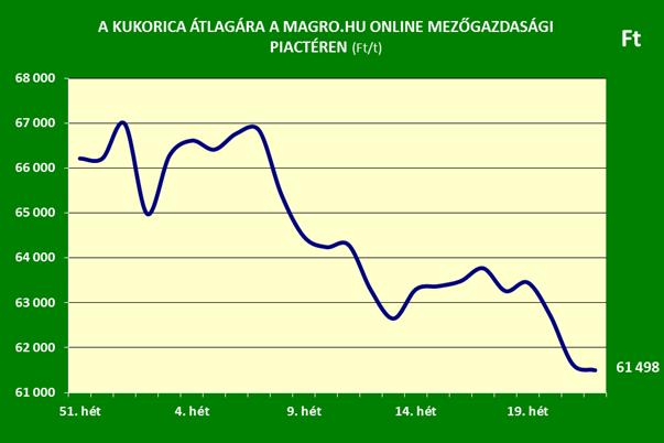 Magro.hu - kukorica ár