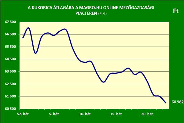 Magro.hu-kukorica ár