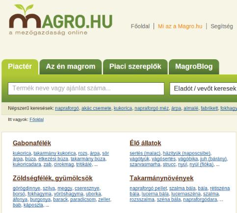 Magro.hu piactér