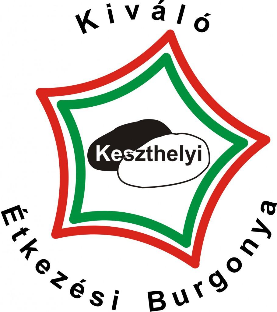 Kiváló Keszthelyi Étkezési Burgonya bejegyzett védjegy logója