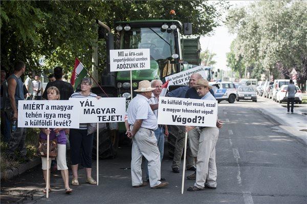 A demonstráció eredményessége csak hetek múlva derül ki Fotó: Sóki Tamás (MTI)