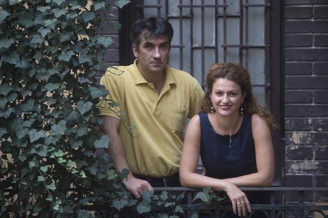 Bóné Tímea és Németh István ( Fotó: Bielik István - Origo)