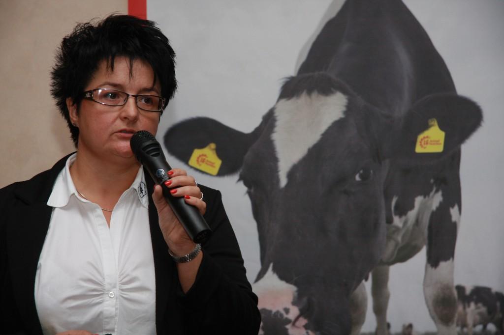 Dr. Orosz Szilvia a jó takarmány ismérveiről tartott előadást