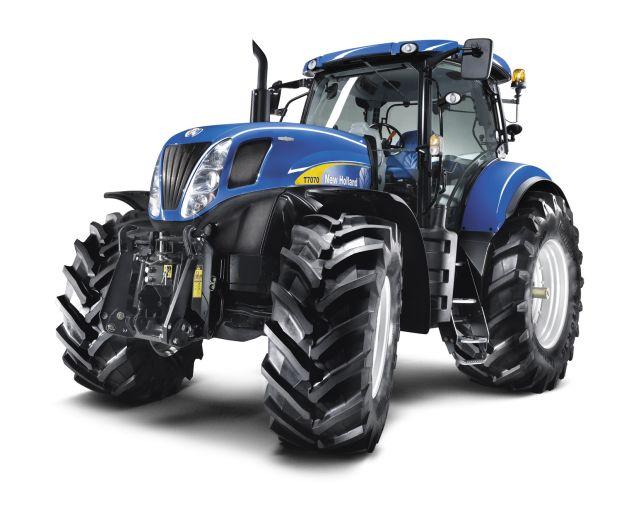 10. A ma kapható legszebb – legalábbis egyes agrárfórumozók véleménye alapján, a fokozatmentes váltóval szerelt, New Holland T7000-es sorozata az egyik legcsábítóbb külsővel megáldott mezőgazdasági munkagép napjainkban. Főleg maserati-kék színben!
