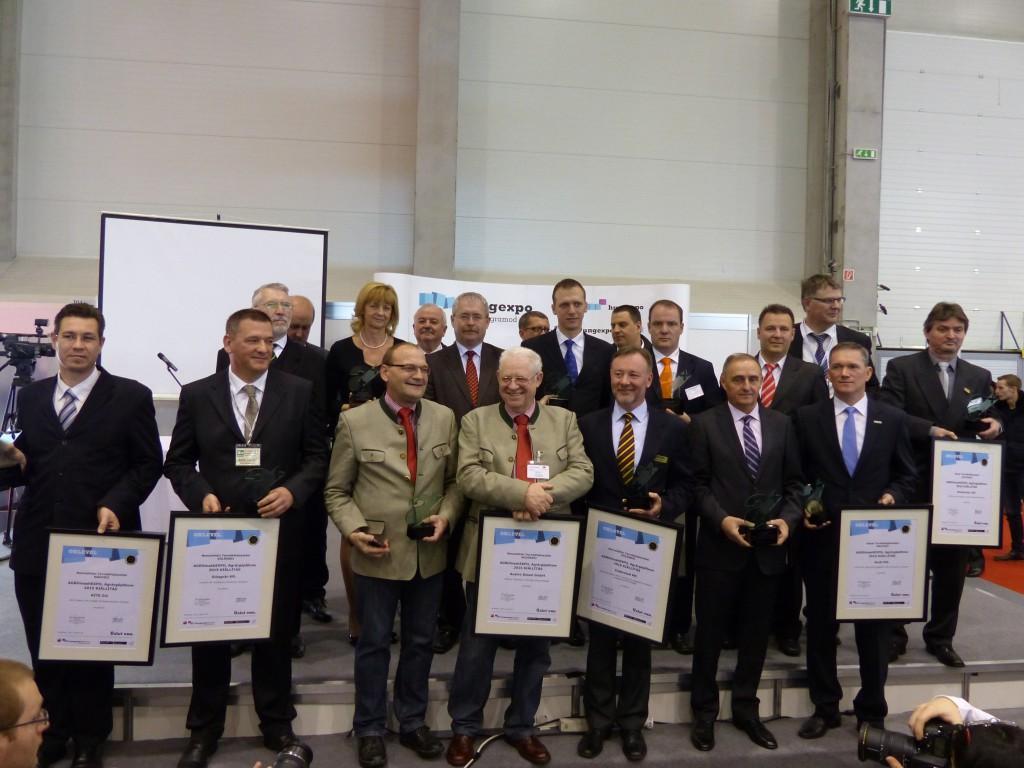 A Nemzetközi Termékfejlesztési Nagydíj és Különdíjas cím jutalmazottjai