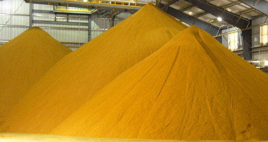 A fehérjenövények kapcsán előtérbe kerülhet az úgynevezett DDGS, a kukorica alapú bioalkohol mellékterméke. Fotó: tradefina.com