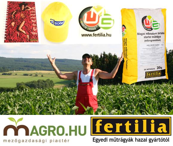 Nyerjen műtrágya csomagot a Fertilia Kft. felajánlásával!