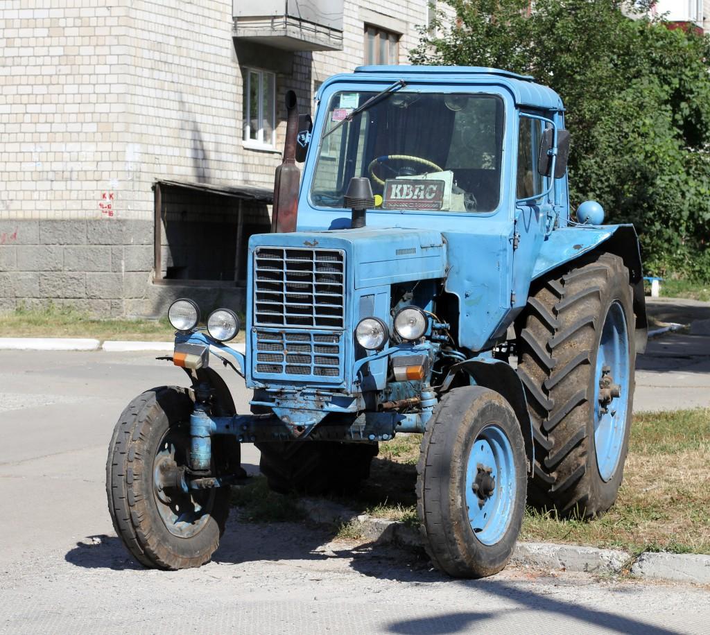 Az MTZ 80 traktor különlegessége, hogy a világon ezt gyártották a legnagyobb mennyiségben