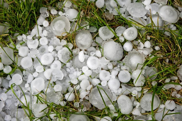 50 gazdából egyet biztosan érint majd nyár végéig a jégeső.