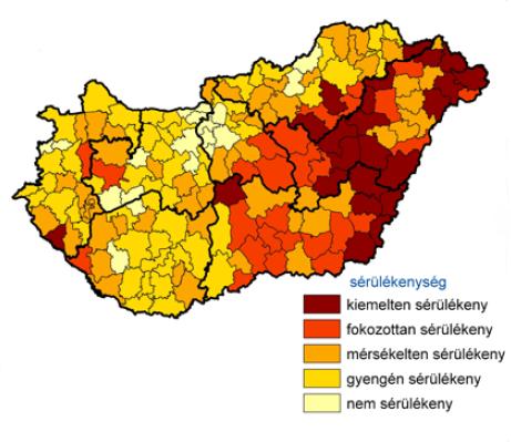 Éghajlati sérülékenység az aszály és szárazodás vonatkozásában [Bartholy Judit et al. - Klímaváltozás]