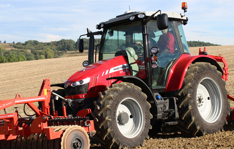 A legsokoldalúbb traktor díjat egy Massey Ferguson kapta