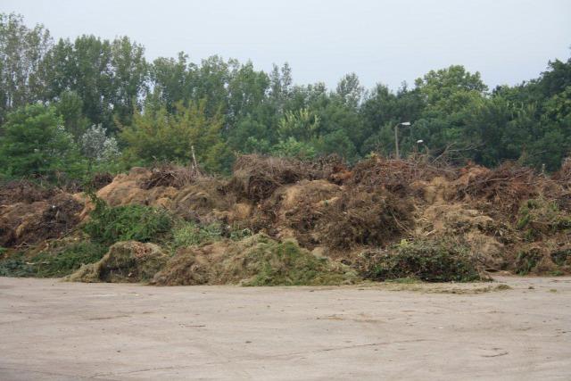Így néz ki egy komposzttelep