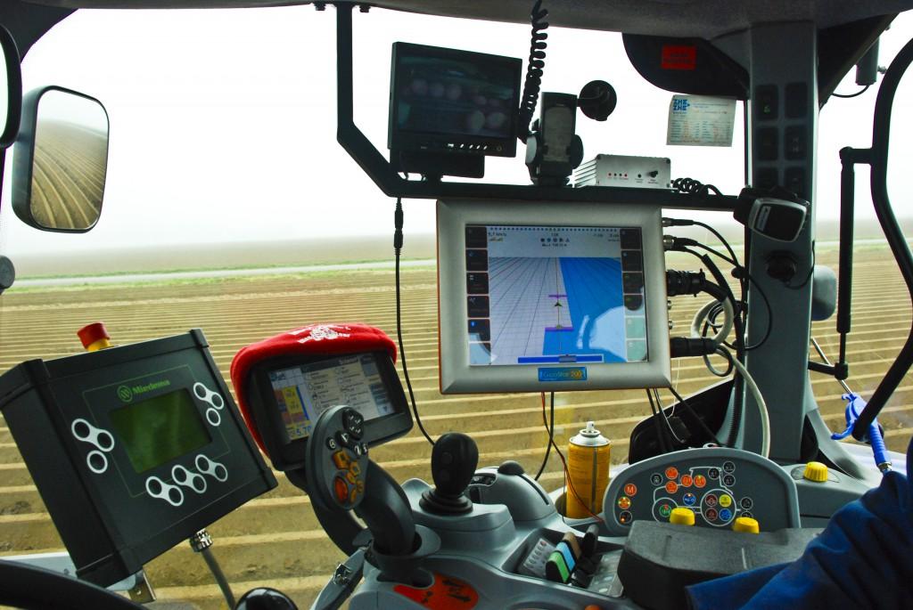 A fenntartható mezőgazdaságban a GPS technológiák is fontos szerepet töltenek be! (Fotó: phys.org)