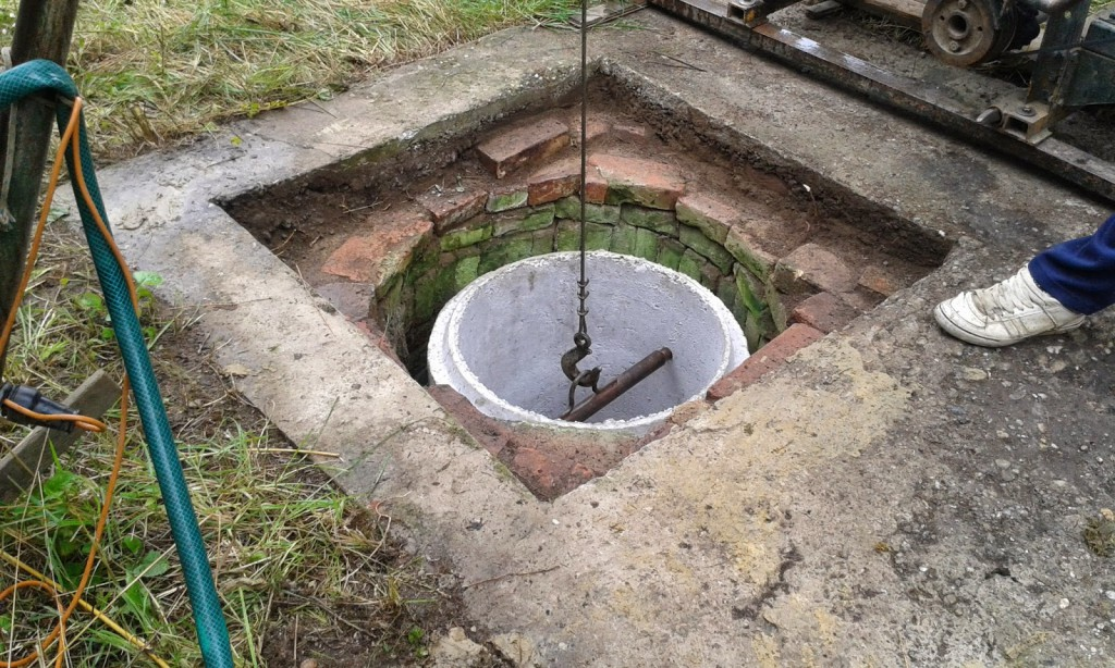 A kertekben lévő kutakra nem vonatkozik a bejelentési kötelezettség (Fotó: szendihegy.blogspot.com)
