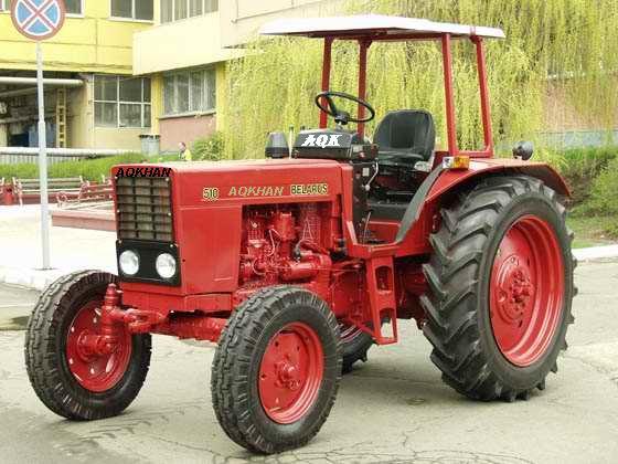 Nem elhanyagolható tény, hogy még a régi típusú MTZ traktorokhoz is lehet kapni gyári alkatrészeket a mai napig