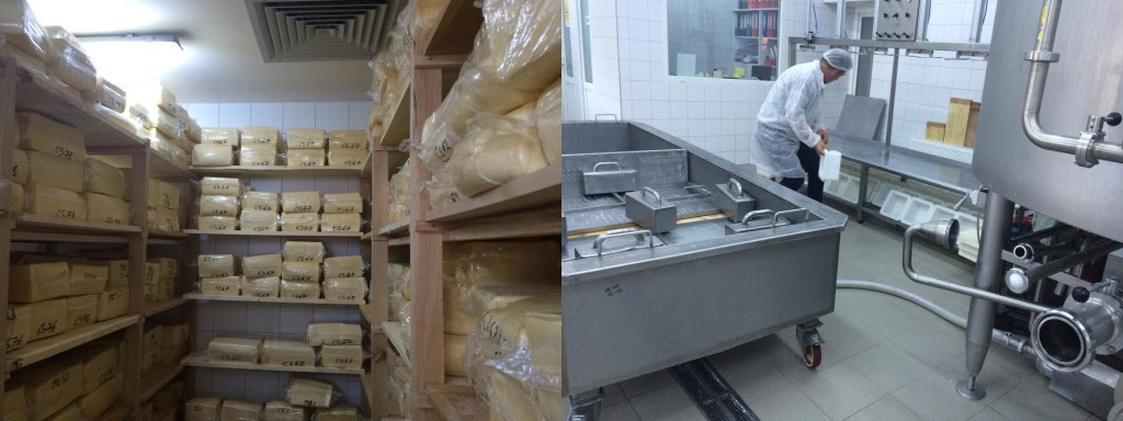 A sajtok kóstolására is volt lehetőség