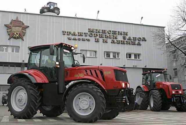 Fehéroroszországban nagy hagyománya van a Belorus gyártásnak