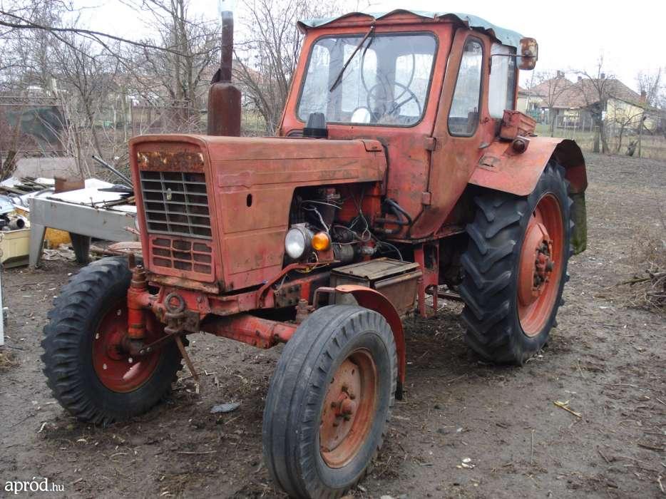 Hazánkban gyorsan kedveltté vált az MTZ ezen szériája, még a mai napig is találni működőképes darabokat a gazdáknál. (Fotó: bright-cars.com)