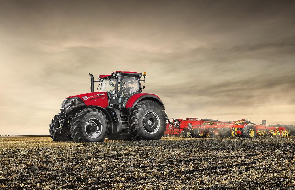 Szép és erős - az Év traktora díj győztese a Case IH Optum 300 CVX