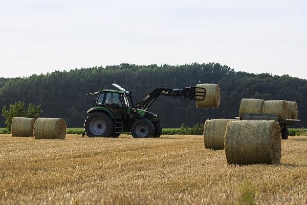 Nagy sláger volt idén a traktor a piactéren!
