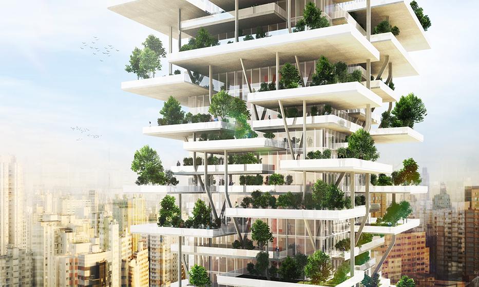 A fotó ugyan csak illusztráció, de hasonlóan fog kinézni a kínai építmény is (Fotó: woarchitecture.com)