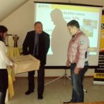 Neuberger Gábor vásárolta meg a negyedmilliomodik tonnát a műtrágyából