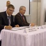 Dr. Fazekas Sándor földművelésügyi miniszter megnyitotta az AGROmashEXPO-t, majd aláírt egy megállapodást a MEGFOSZ-szal