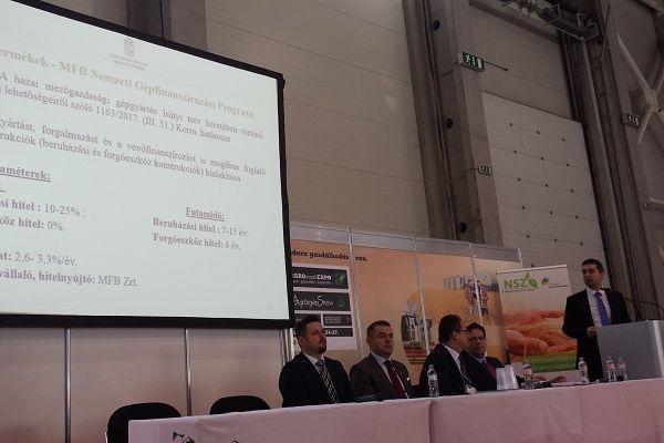 a Földművelésügyi Minisztérium helyettes államtitkára, Dr. Feldman Zsolt beszél a jelenlegi Közös Agrárpolitika várható változásairól