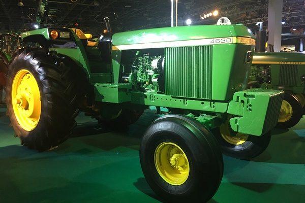A John Deere és a KITE hadrendbe szedte a traktorokat, ő a 4630-as