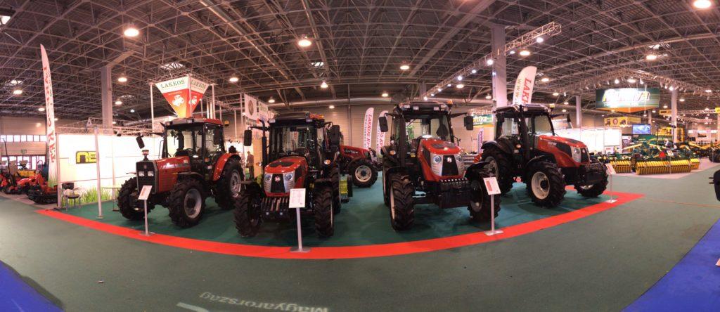 A török gyártású HATTAT traktorok több változatban kaphatók