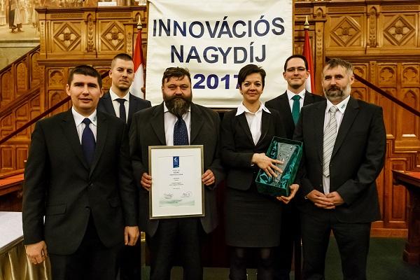A KITE csapata a 26. Magyar Innovációs Nagydíj átadásán - Fotó: Boltresz Attila, Feith Sándor
