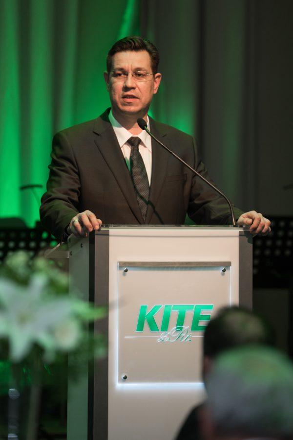 Szabó Levente, vezérigazgató, egy rövid történelmi visszatekintés után számolt be arról, hogy mik a KITE Zrt. mai céljai