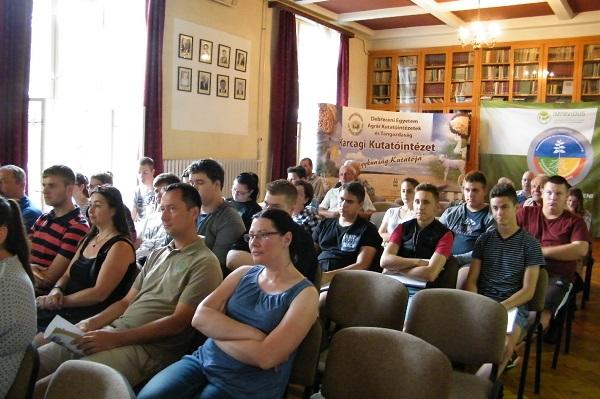 A KG Nagykun őszi árpa bemutatkozott a közönségnek - a kép forrása: Debreceni Egyetem, www.unideb.hu