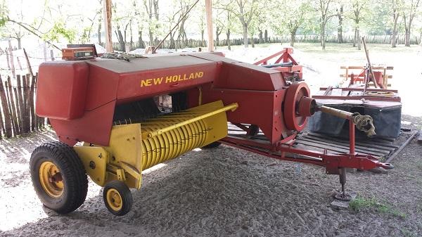 A magyar mezőgépek piacát a nagy gyártók határozzák meg - képünkön egy régebbi New Holland eszköz
