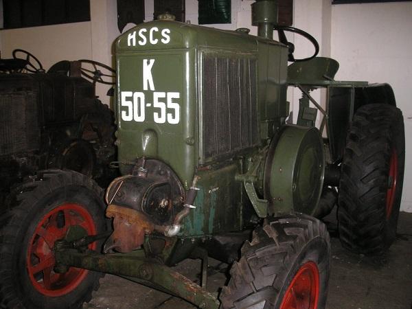 """A """"Hazaáruló"""" a két világháború között, Magyarországon gyártott legnagyobb teljesítményű erőgép - fotó: Axiál"""