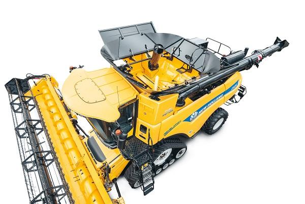 Így néz ki felülről a New Holland CR 10.90 kombájn - Fotó: Agrotec Magyarország