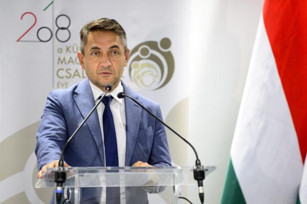 Potápi Árpád János a Miniszterelnökség nemzetpolitikáért felelős államtitkára (Fotó: Árvai Károly - kormany.hu)