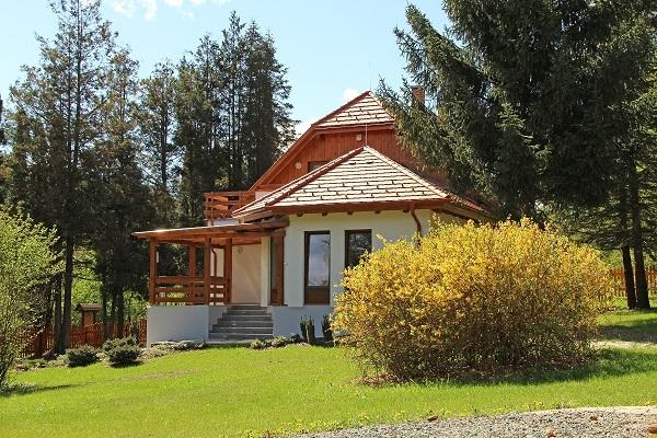 A Szombathelyi Erdészeti Zrt. vendégháza Szakonyfalutól alig másfél kilométerre található a Vendvidék egyik legszebb részén - Fotó: Szombathelyi Erdészet