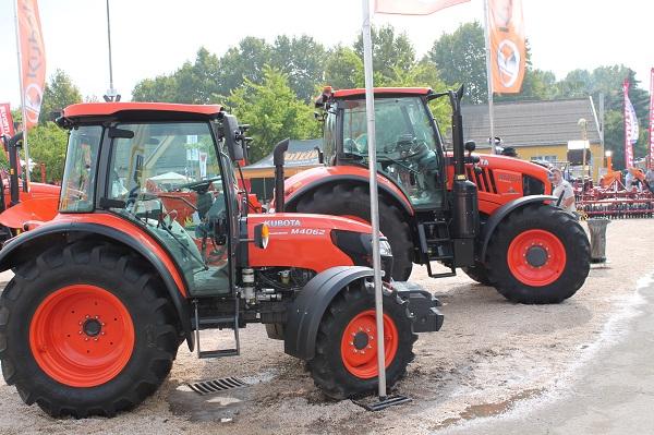 Kubota traktorok a Bábolnai Gazdanapokon - ezzel a márkával a legelégedettebbek a gépkereskedők a 10 országra kiterjedő felmérés alapján