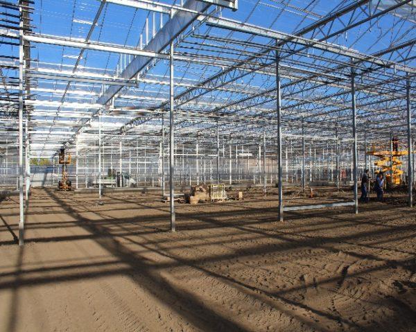 Az új palántanevelő üvegház mindent tud majd, amit kell
