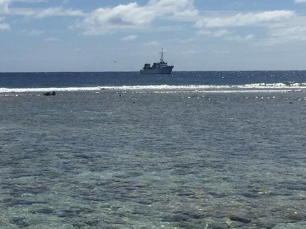 A Ducie korallsziget melletti vizek