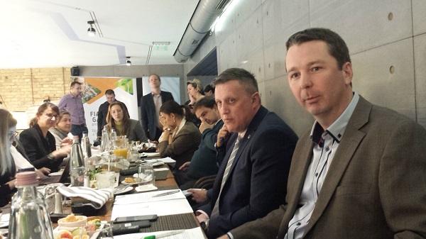 Győrffy Balázs a NAK és Weisz Miklós az AGRYA elnöke beszél a két szervezet közös programjairól és 2019-es terveiről egy budapesti sajtóreggelin