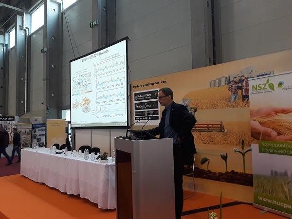 Potori Norbert, az Agrárgazdasági Kutató Intézet igazgatója beszélt arról, milyenek lesznek idén a gabonapiaci lehetőségek