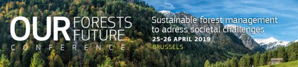 Az erdőnk a jövőnk (Our Forests, Our Future) konferenciát április végén rendezték meg Belgium fővárosában, Brüsszelben