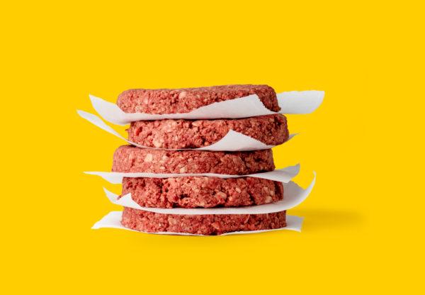 A génszerkesztett műhúsból készített húspogácsa - fotó: Impossible Foods
