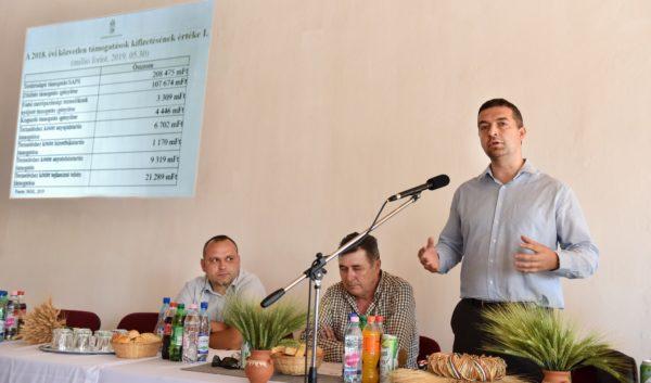 az Agrárminisztérium mezőgazdaságért felelős államtitkára. Feldman Zsolt elmondta, hogy a 2018. évi kérelmeik után május végéig 380 milliárd forintnál is több közvetlen támogatást kaptak a magyar gazdák - Fotó: Krasznai-Nehrebeczky Mária - Agrárminisztérium