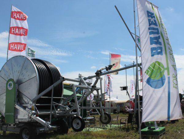 Így mutatott a BAUER Hungária Kft. standja Mezőfalván, a NAK Szántóföldi Napok és AgrárgépShow rendezvényen