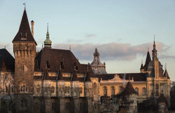 A Mezőgazdasági Múzeum épülete Budapesten