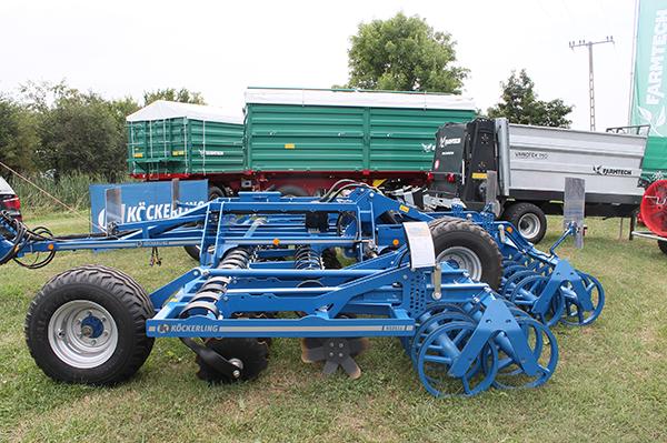 A REBELL Classic T segítségével elvégezhető a sekély talajművelés közvetlenül a betakarítás után, valamint a magágykészítés a mulcsvetéshez is