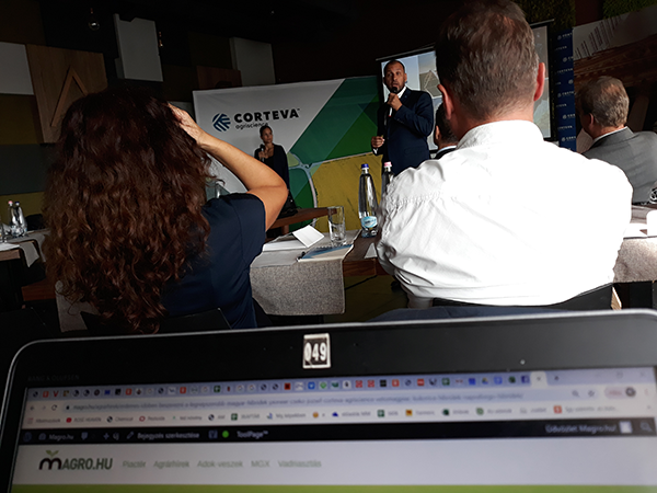 Ilyen közelről halgattuk a Corteva Agriscience budapesti médianapjának szakmai előadóit